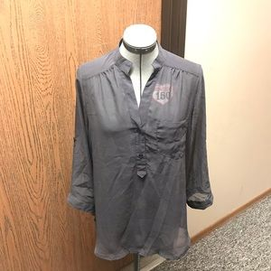 Maurices Flowy Blouse